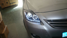 toyota vios 2008 modified led Head Light and tail lamp (ISO9001&TS16949)