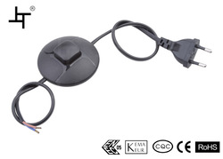 Inline Foot-tap Cord Switch - flying saucer