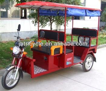 Popular 800-1000W three wheel motorcycle e rickshaw for passenger JB300K-02L