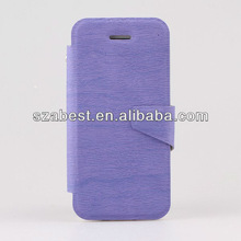 2013 New Products Leather Flip Cover For iPhone 5C,Wooden Pattern Leather Case For iPhone 5C