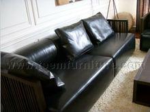 Simple Design Leather Sofa Furniture D-36-1