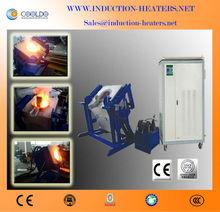 induction silver(Ag)/gold/Fe/zinc/aluminum melting furnace 30KW