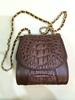 Genuine crocodile leather skin handbags / crocodile handbag / Caiman leather handbags