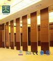 A prueba de sonido móvil panel de pared de madera tabique decorativo paredes separador de habitaciones plegable tablero de la pared