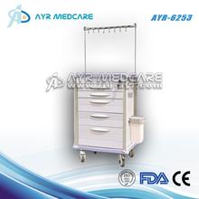 AYR-6253 Emergency abs iv treatment trolley hospital furniture