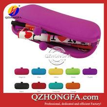 Long silicone rubber pencil silicone pen case