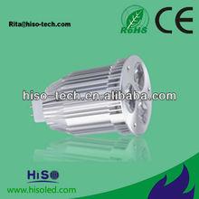China 3W 4w sharp GU10 MR16 E27 B22 LED outdoor spotlight