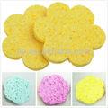 natural esponjas de celulosa para la limpieza facial