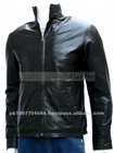 Minority Report Black Biker Leather Jacket