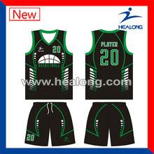top quality custom made new design basketball clothing