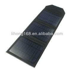 portable solar panel 10w high power folding solar charger panel