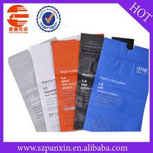full printing matte PET/VMPET/PE clothing packaging bag