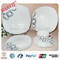2014 nova primavera porcelana fina ponta marcas de conjuntos de louças lugar configuração muito com projeto popular