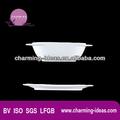 """El más reciente 6.5"""" soup bowl de porcelana y un plato"""