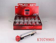 Shantou Farah Toy Die Cast Car 1:72 Alloy Truck Set Toys