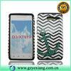 Glossy Combo Cover Custom Phone Case For Motorola Razr D3 XT919