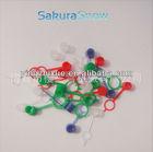 Various color PVC m10 Grease nipple cap .