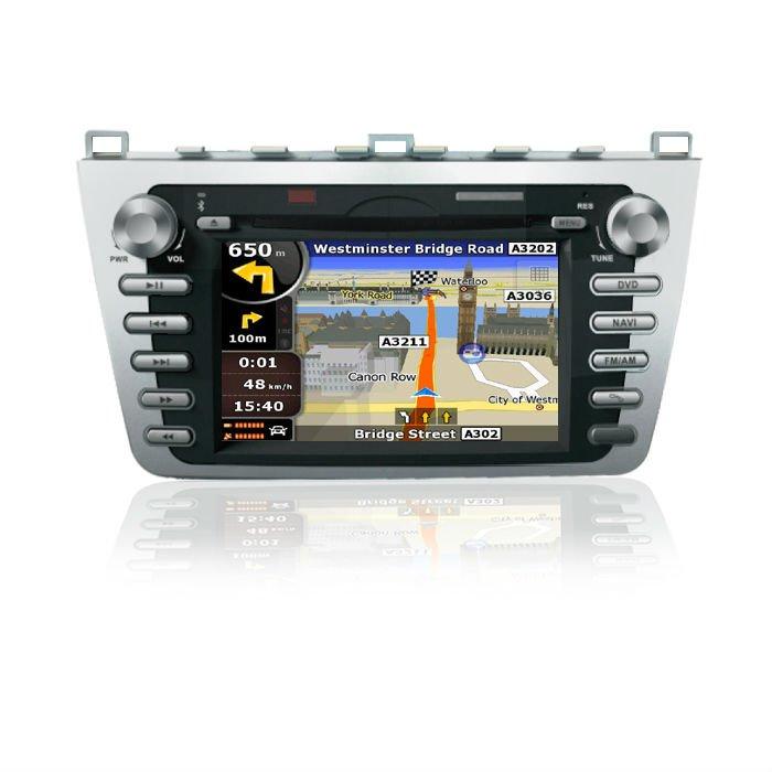 2008-2010) unités spécifiques de multimédia de voiture d'ABM Mazda 6 (