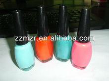 Private label cosmetics salon professional nail polish