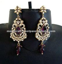 2015 new style earring - Designer Jumka Earrings - Victorian long Earrings - imitation jewelry for girls