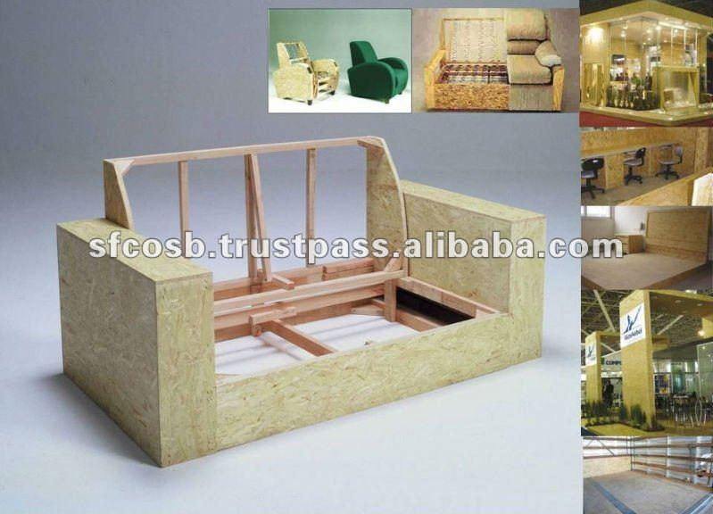 Osb pour meubles panneaux de particules id du produit for Meuble osb