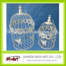 White bird cage metal birdcages hanging Bird cages