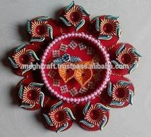 Designer Diwali Rangoli Diya - Diwali Decoration - Diwali corporate gift - oil lamps-wholesale diwali gift Diya