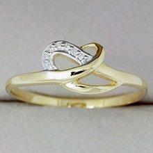 9k solido oro giallo anello con diamante autentico( dr3369_dia)- 2 carati di diamanti anello di fidanzamento