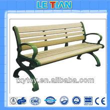 Cast Iron Wooden Bench Outdoor Garden Bench LT-2120A