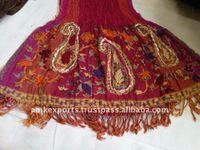 Hand embroidery woolen shawls