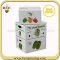 Forma elegante frutas caixa da caixa, suco de frutas caixa, suco de frutas caixas de embalagem