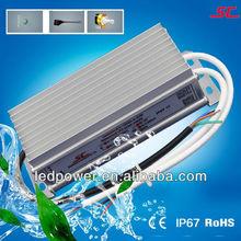 KV-12060-A-DIM 12v 60w waterproof led transformer PWM IP67 0/1-10V dimmable