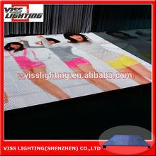 night club dance floor led display /auto shows