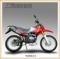 RESHINE YH200GY-6 off road dirt bike motorcyle for sale