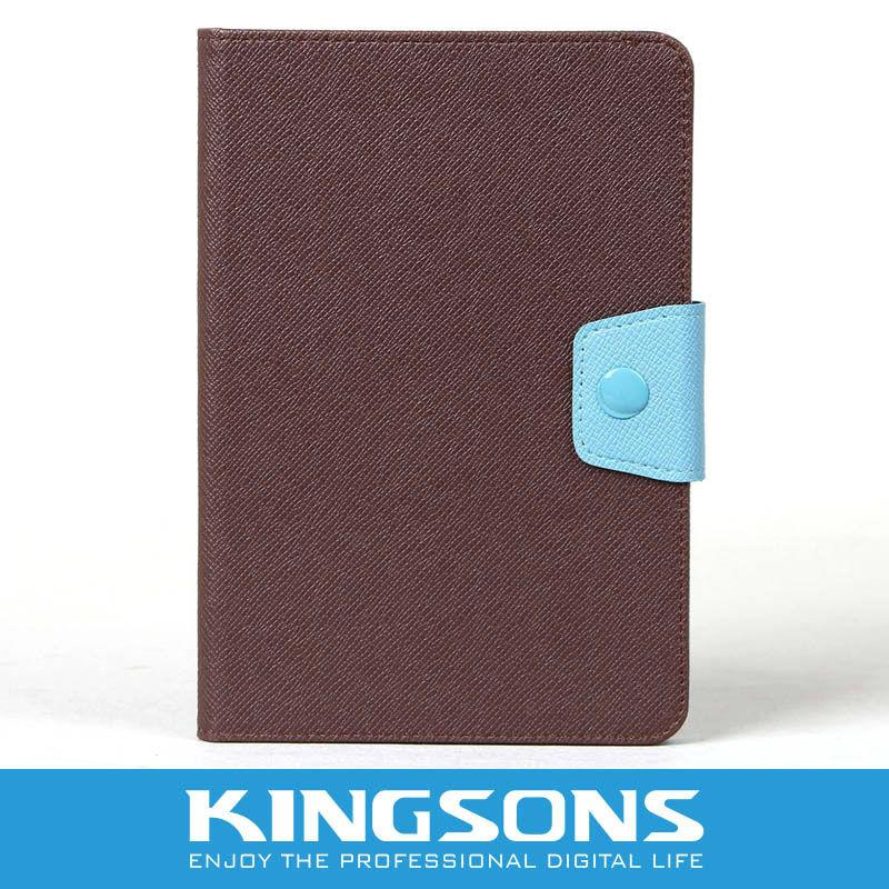 Colorful PU leather case for ipad mini