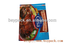 cooked food packing bag for security pack bacon/raw meat