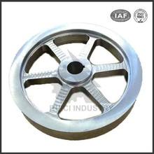 Custom small grey cast iron flywheel