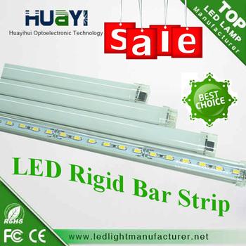 SMD5630 5730 led rigid bar ,aluminium profile led strip bar