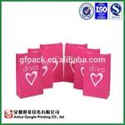 SOS kraft paper bag for cosmetic