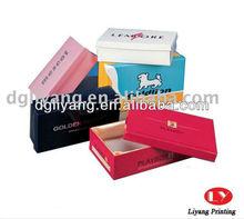 20131 Kraft paper shoe box - Popular design and type