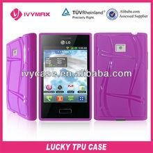 cheap mobile phone cases for LG L3 E400 TPU case