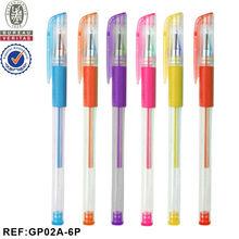 INTERWELL GP02B Glitter Gel Pen, Colored Gel Ink Glitter Pen