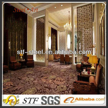 hot sale china decorative metal stainless steel screen partition room divider curtain in steel
