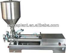 Pneumatic paste/cream/chilli/honey liquid filling machine