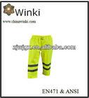 Hi Viz Waterproof Safety Pants Reflective Pants