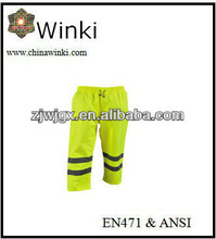 Hi Viz Waterproof Safety Pants Reflective Pants