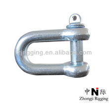 lifting marine screw pin anchor shackles hook manufacturer