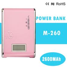Solar Power Bank Charger/Power Bank Fashion