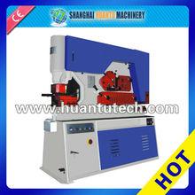 q35y série hidráulica trabalhador ferro plana bar máquina ferreiros de perfuração e máquina de carimbar