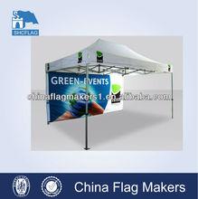 High quality custom trade show folding tent